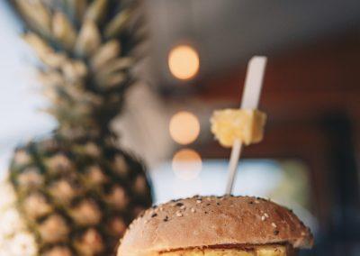 pina colada burger